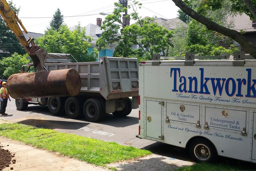 CT Underground Tank Removal